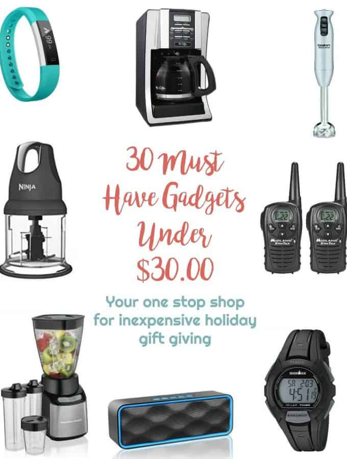 30 Must Have Gadgets Under $ 30.00 | Healthy Living in Body and MInd