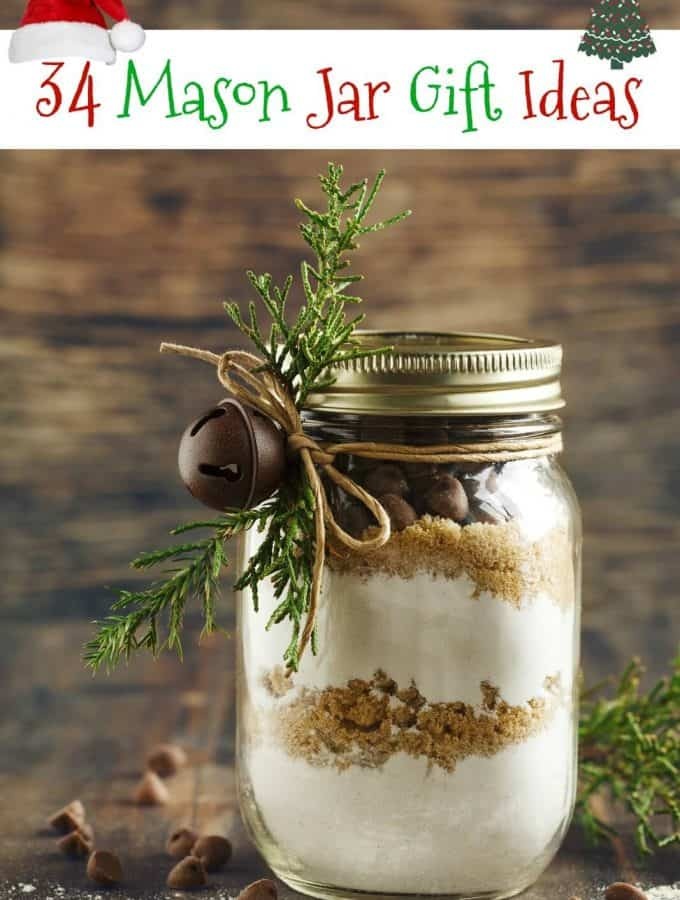 34 DIY Mason Jar Gift Ideas