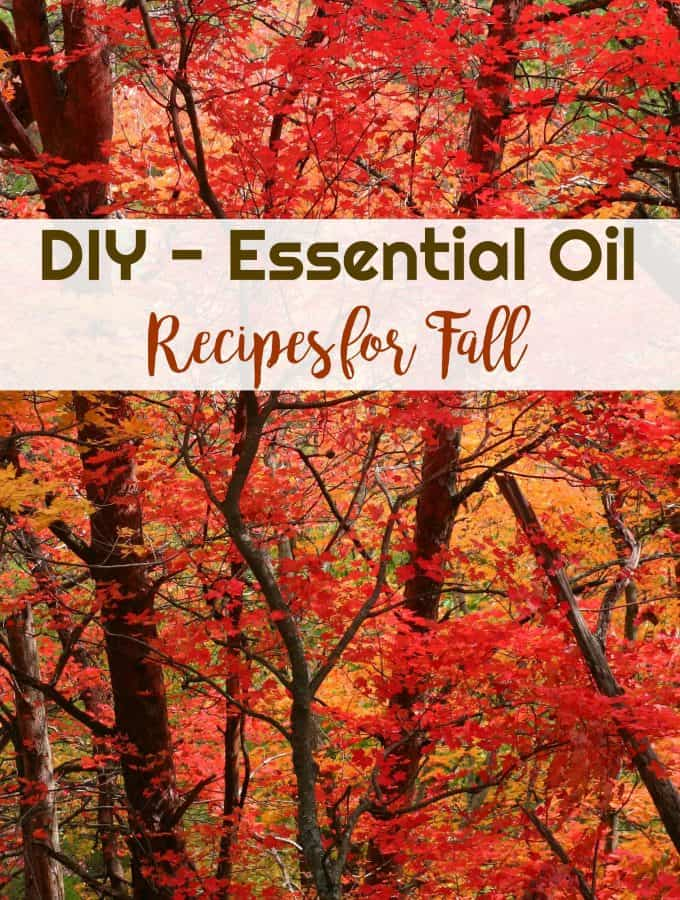 DIY Essential Oil Recipes for Fall