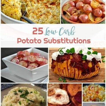 25 Low Carb Potato Substitutions | Healthy Living in Body and Mind