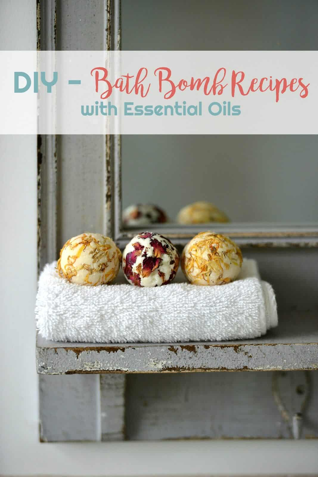 DIY - Bath Bomb Recipes with Essential Oils | Healthy Living in Body and Mind