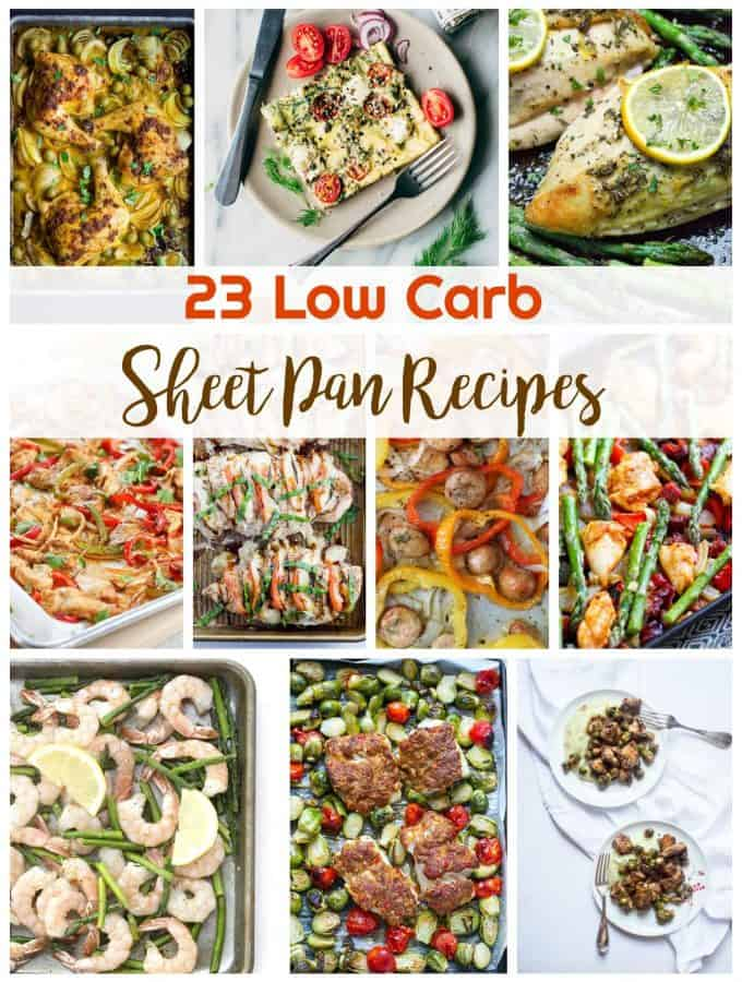 23 Low Carb Sheet Pan Recipes | Healthy Living In Body and Mind