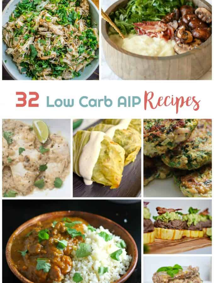 32 Low Carb AIP Recipes | Healthy Living in Body and Mind