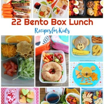 22 Bento Box Lunch Recipes for Kids | Healthy Living in Body and Mind