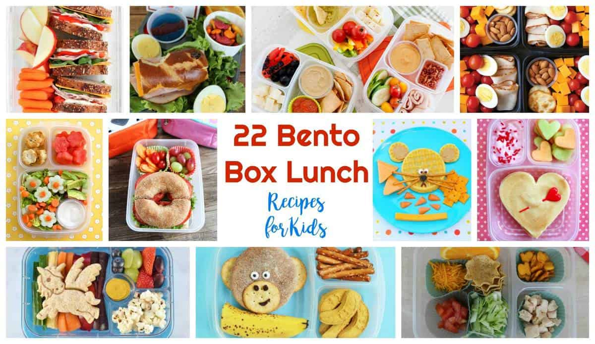 22 bento box lunch recipes for kids healthy living in mind and body. Black Bedroom Furniture Sets. Home Design Ideas