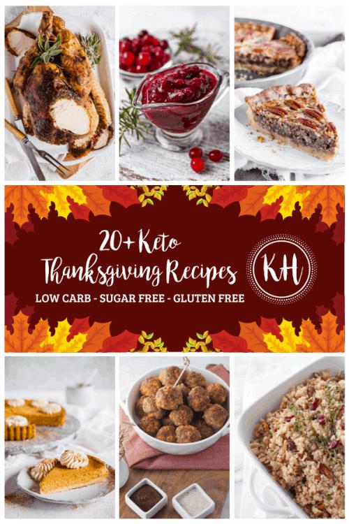 20+ Keto Thanksgiving Recipes | Kyndra Holley