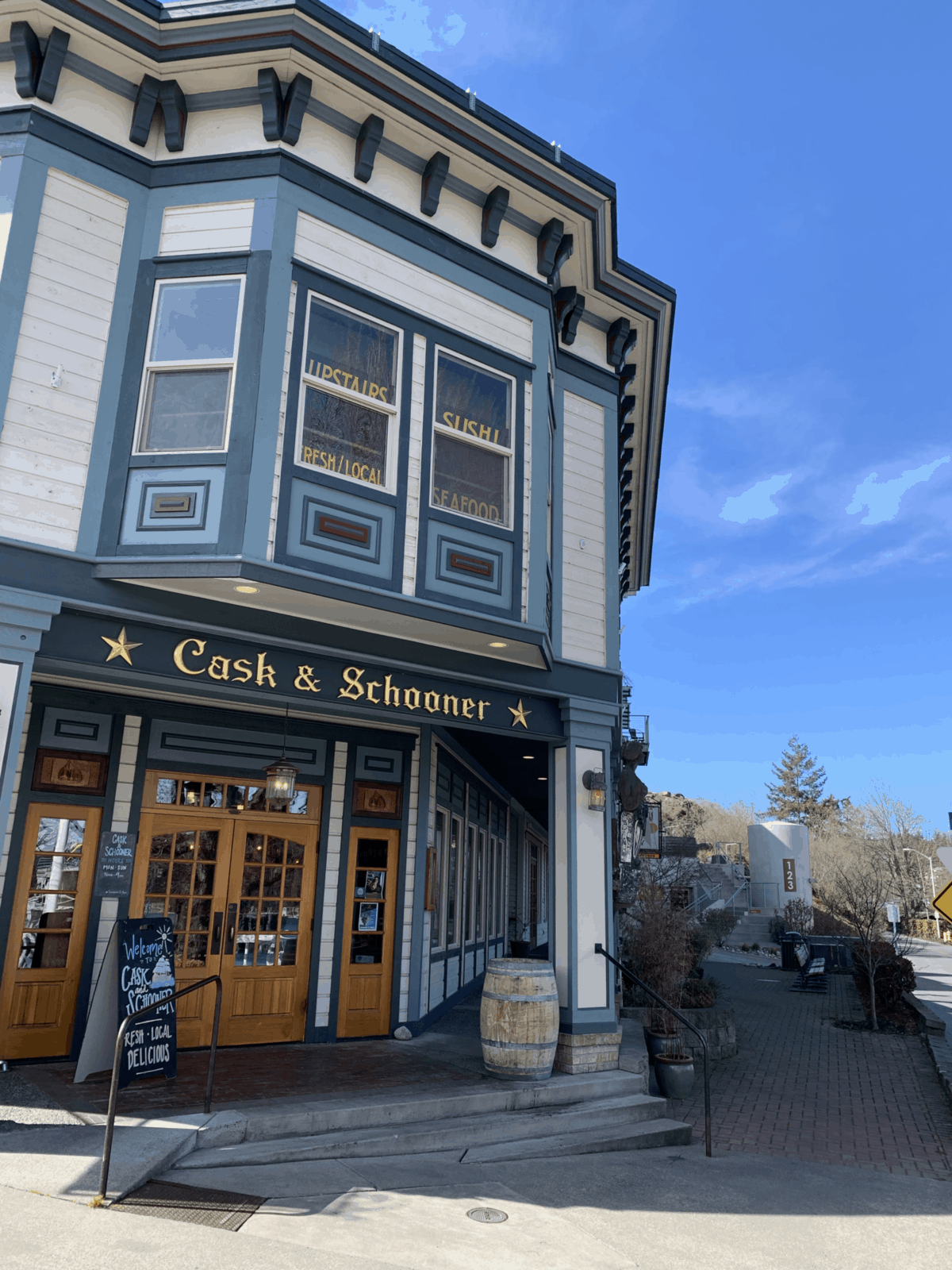 Cask and Schooner Restaurant in Friday Harbor on San Juan Island