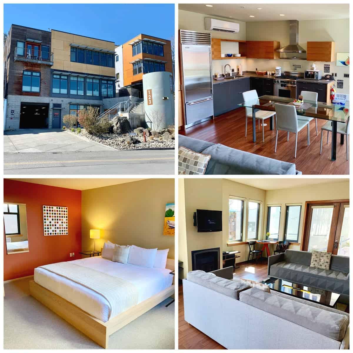 Penthouse 7 - Island Inn- Friday Harbor - San Juan Island