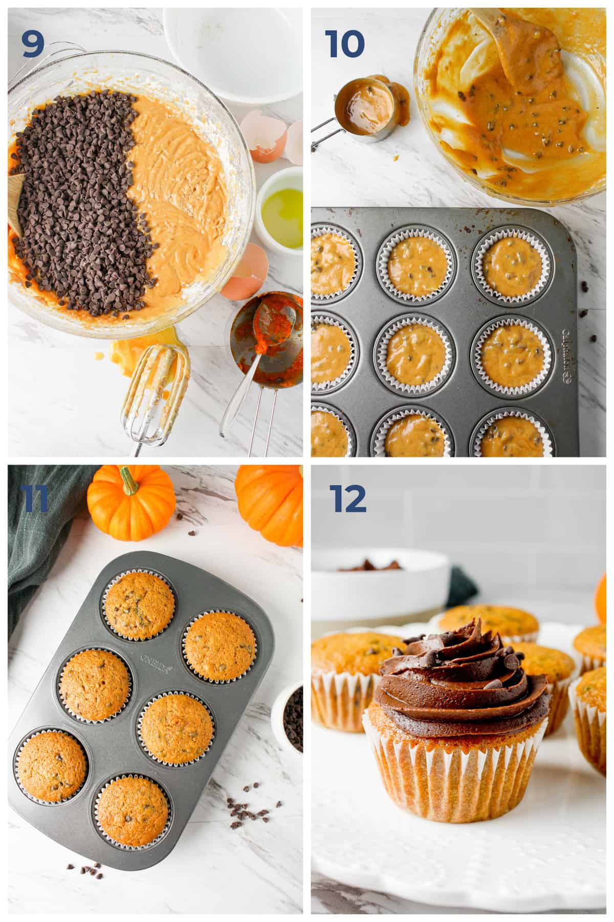 step by step ingredients on how to make sugar free pumpkin spice muffins   Hungry Foodie